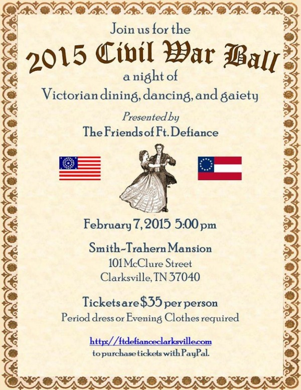 2015 Civil War Ball - Ft Defiance small