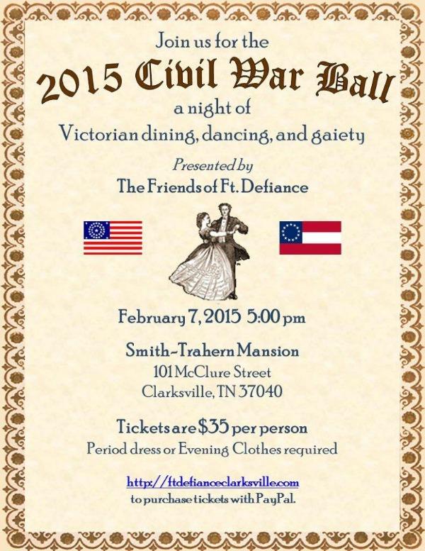 2015 Civil War Ball - Ft Defiance small
