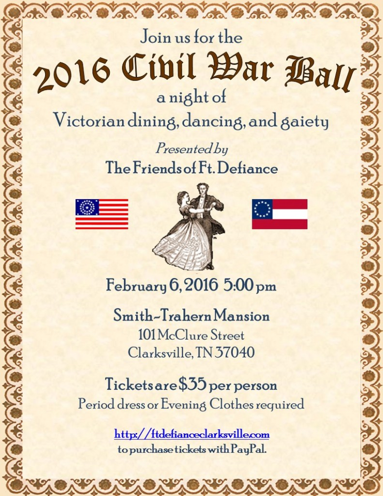 2016 Civil War Ball - Ft Defiance